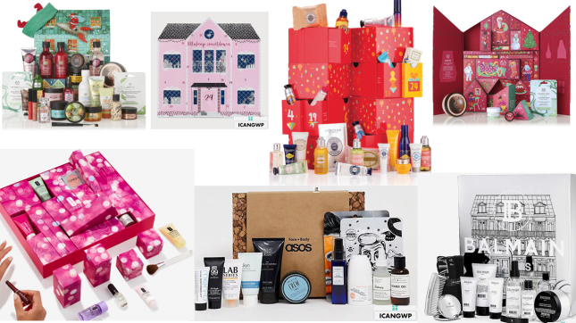 beauty advent calendar 2019 icangwp blog