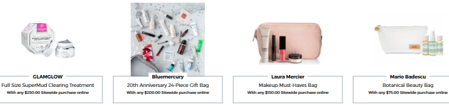 Beauty Treats on Us bluemercury september 2019 icangwp blog