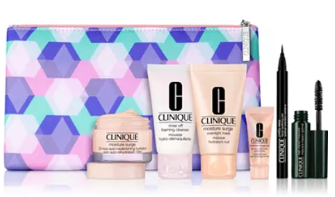 Clinique Choose your FREE 7 pc gift with any 29 Clinique purchase up to a 95 value Reviews Gifts with Purchase Beauty Macy s