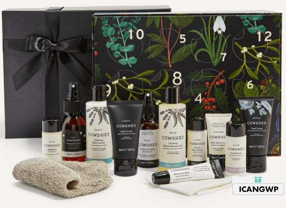 cowshed 12 Day Advent Calendar 2019 icangwp blog