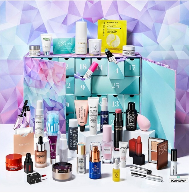 cult beauty advent calendar 2019 icangwp beauty blog new