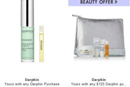 darphin gift with Purchase Neiman Marcus icangwp blog