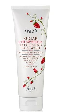 Fresh Sugar Strawberry Exfoliating Face Wash bluemercury