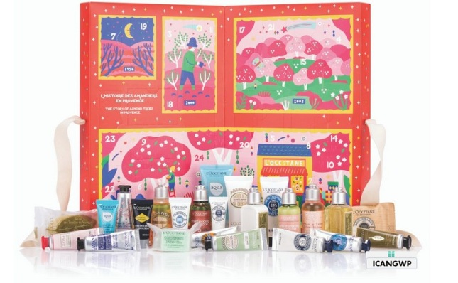 loccitane advent calendar 2019 icangwp beauty blog classic.jpg