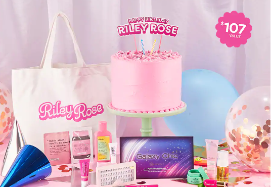 Riley Rose birthday gift with purchase icangwp blog