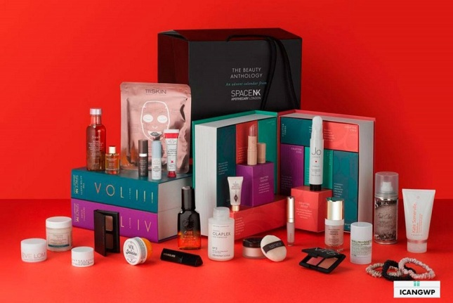 Space NK Advent Calendar 2019 uk icangwp beauty blog
