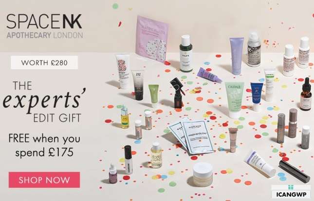 space nk goody bag september 2019