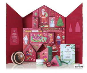 THE BODY SHOP DELUXE advent calendar 2019 icanwp beauty blog