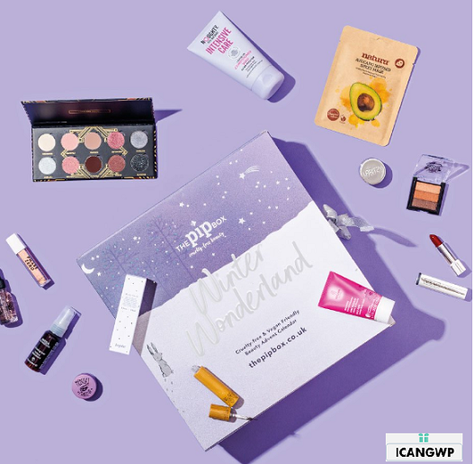 The Pip Box Cruelty free Vegan Beauty Advent Calendar 2019 icangwp blog