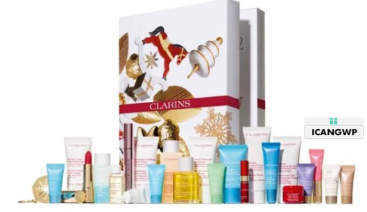 24 Day Advent Calendar   Clarins 2019 usa icangwp.png