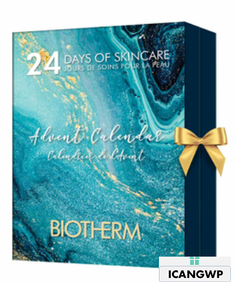 24 DAYS OF SKINCARE ADVENT CALENDAR by Biotherm icangwp
