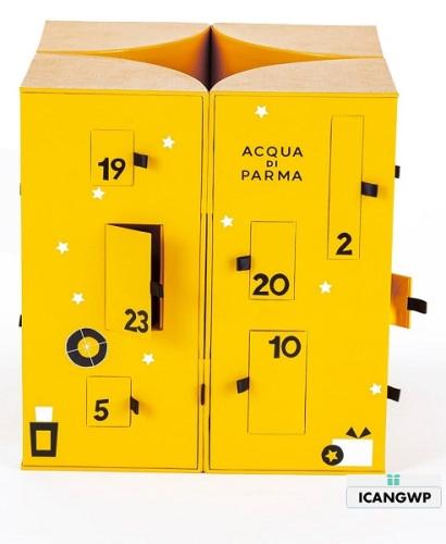 ACQUA DI PARMA advent calendar 2019