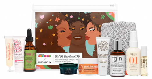 Birchbox x Refinery29 Unbothered The It's Your Crown Hair Kit