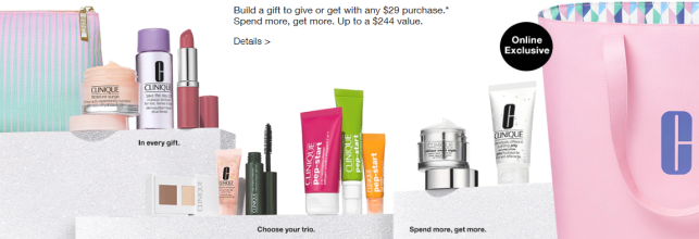 Free 7 piece gift Clinique Clinique icangwp blog