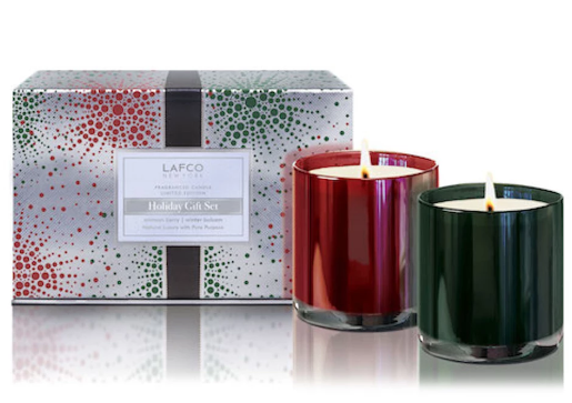 LAFCO Holiday Limited Edition Classic Candle Gift Set bluemercury