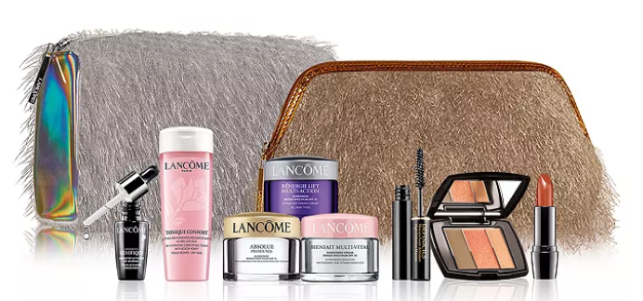 Lancôme Gift with any 39.50 Lancôme purchase up to a 133 value Bloomingdales icangwp