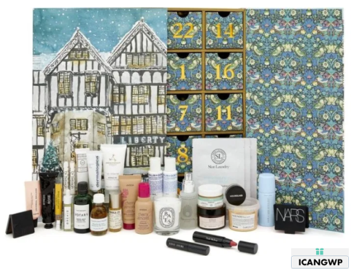 Liberty london Advent Calendar 2019 icangwp
