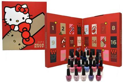 Opi-Hello-Kitty-Nail-Lacquer-Advent-Calendar 2019 icangwp blog.jpg