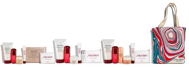 Shiseido Gift with any  75 Shiseido purchase    Bloomingdale s.png