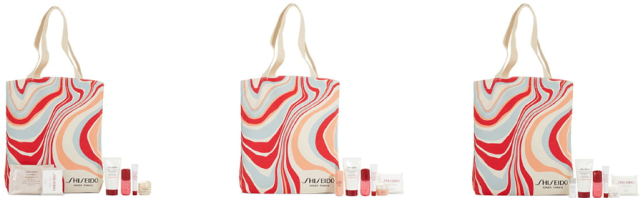 shiseido Gift with Purchase 7pc Nordstrom oct 2019