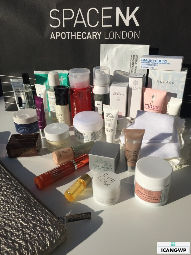 space nk usa beauty edit gift review by icangwp blog
