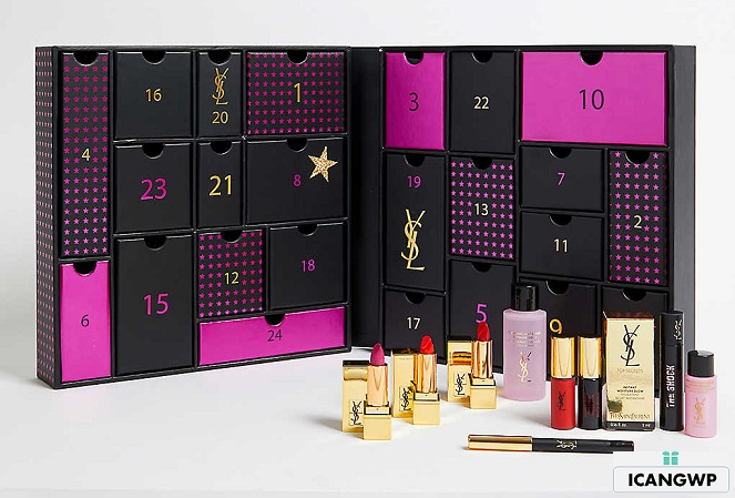 ysl advent calendar 2019 selfridges icangwp beauty blog