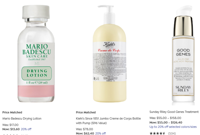Beauty Fragrance Sale Nordstrom 20 percent off icangwp