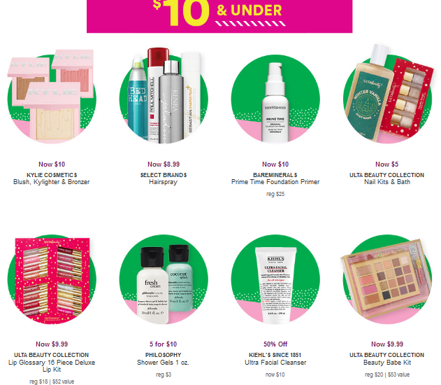 Black Friday Ulta Beauty icangwp 10 doorbusters