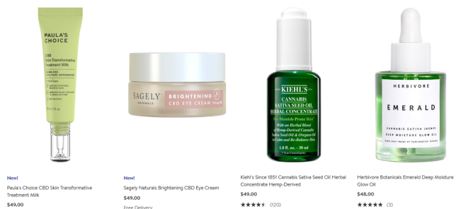 cbd products Nordstrom