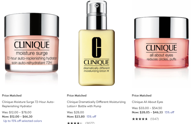Clinique 15 off Skin Care Nordstrom