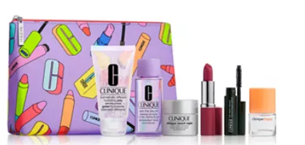 Clinique Choose your Free 7pc gift with any 65 Clinique purchase A 93 Value Reviews Gifts with Purchase Beauty Macy s