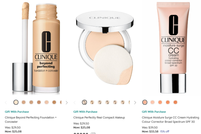 clinique foundation Nordstrom