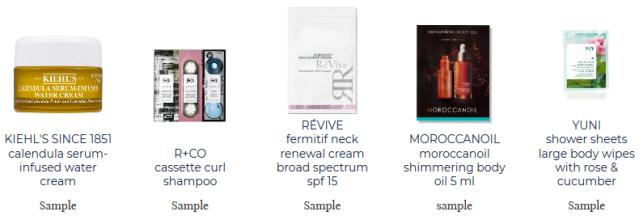 free samples bluemercury