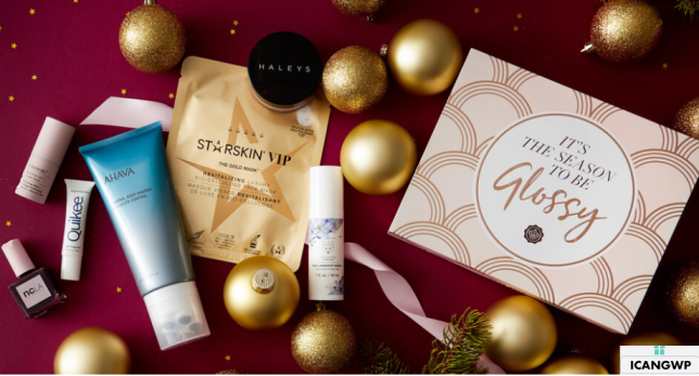 glossybox Holiday Limited Edition 2019 US full spoilers icangwp
