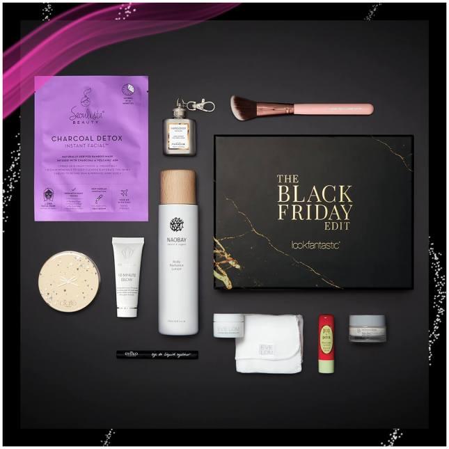 lookfantastic the black friday edit beauty box icangwp blog