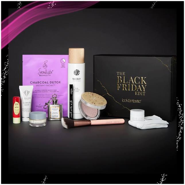 lookfantastic the black friday edit beauty box icangwp