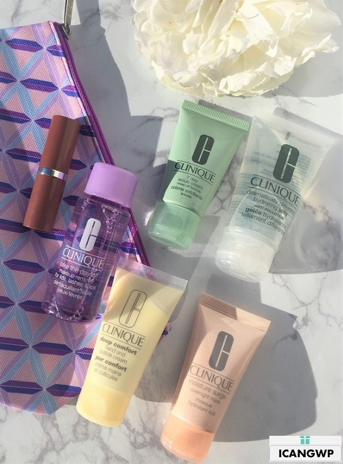 nordstrom clinique gift with purchase by icangwp blog haul