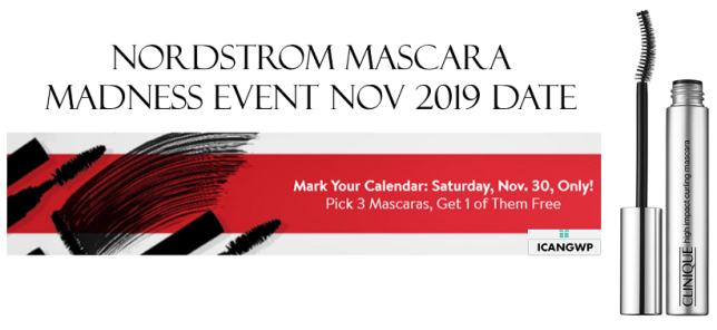 nordstrom mascara madness 2019 date november 2019 icangwp