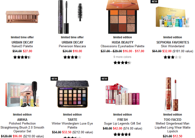 Sephora black friday 2019 sale