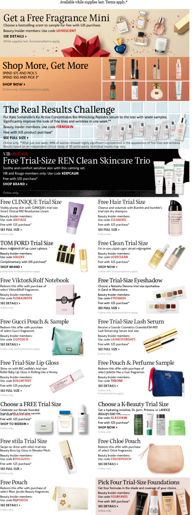 Sephora Coupons Promo Codes Coupon Codes Sephora pre black friday