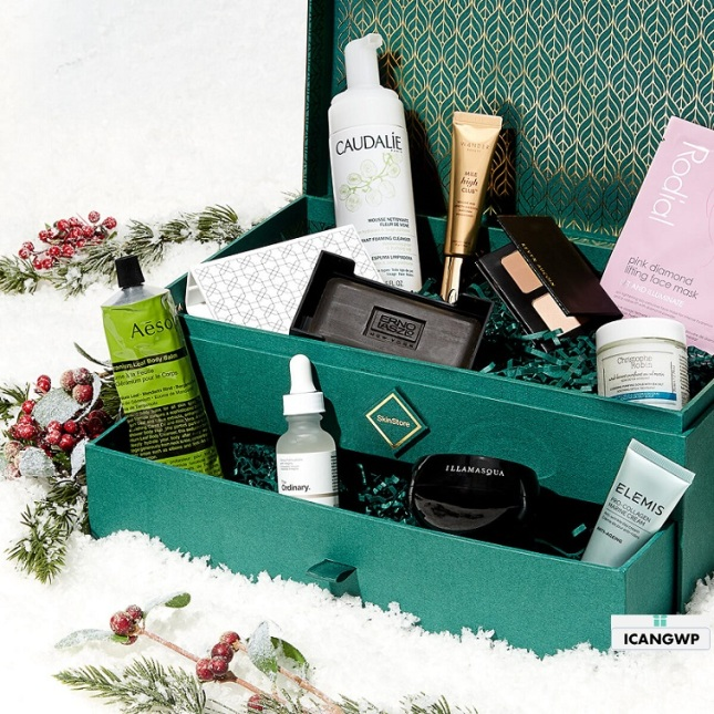 skinstore holiday limited edition box 2019 icangwp blog 2
