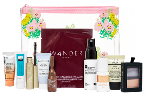 Spend 75 get 10 best selling samples plus a makeup bag