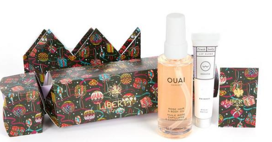 The Liberty Beauty Cracker with OUAI and Frank Body Liberty London