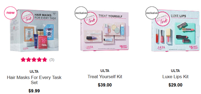 Ulta Beauty sampler icangwp