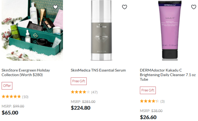 50 Off 50 Products SkinStore cyber monday