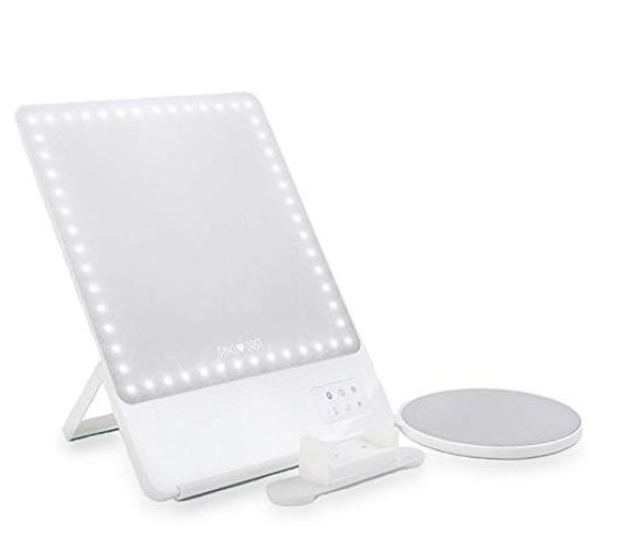 Amazon.com Glamcor Riki Skinny Lighted Mirror Beauty
