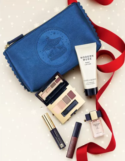 Estée Lauder Choose your FREE 6 Pc. gift with any 55 Estée Lauder fragrance purchase Reviews Gifts with Purchase Beauty Macy s
