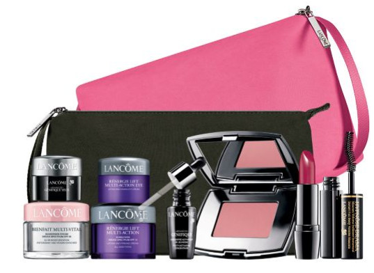 Lancôme EXCLUSIVELY YOURS FREE 7 PIECE GIFT YOURS WITH ANY 49.50 LANCOME PURCHASE lordandtaylor.com