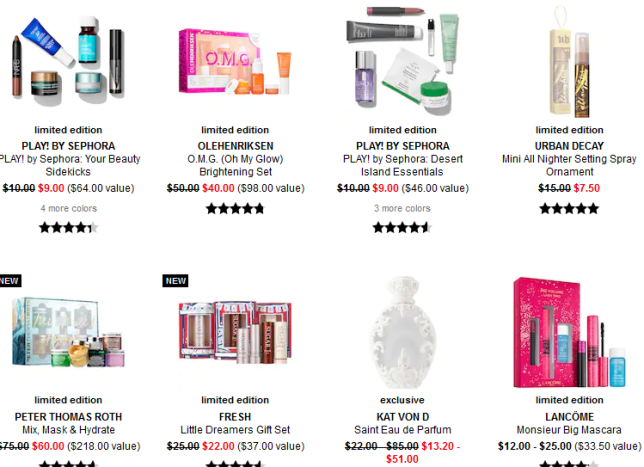 Makeup Sale Beauty Sale Sephora dec 2019 icangwp
