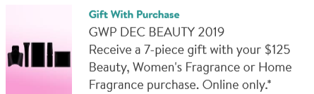 mystery Gift with Purchase Nordstrom icangwp blog dec 2019